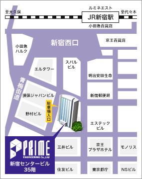 東京本社 地上アクセスマップ